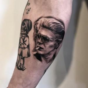 Bowie portræt mini
